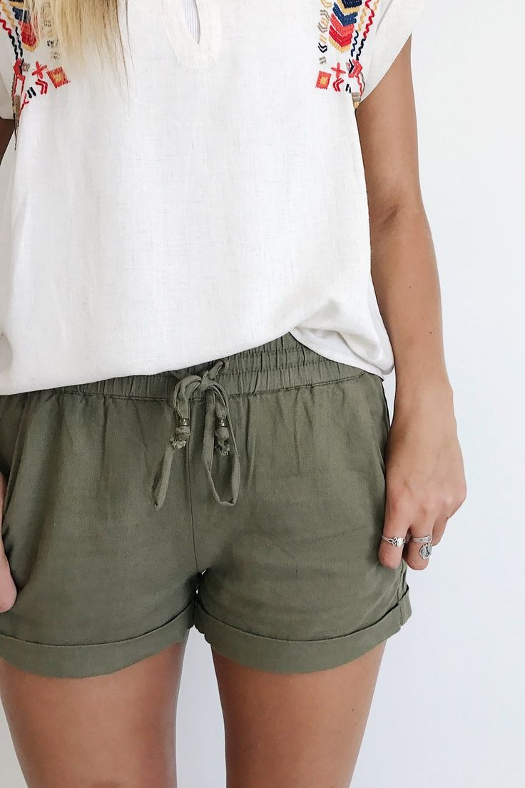 Clearwater Beach Short in Olive