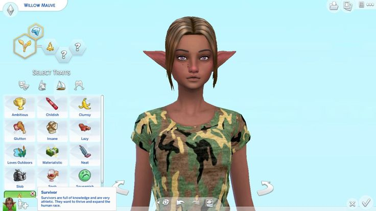 how to add a trait in the sims 4