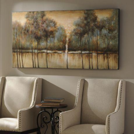 Natural solitude canvas print