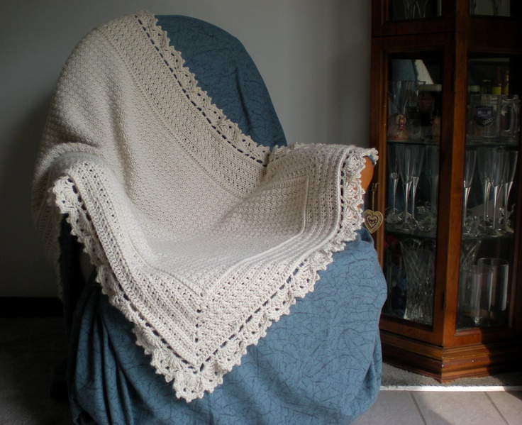 119 best crochet afghan white images on pinterest knitted a modern heirloom afghan crochet pattern by roseredsdesigns dt1010fo