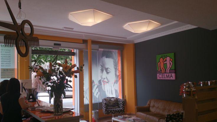 Proyecto realizado en Santiago de compostela en una academia de peluqueria.