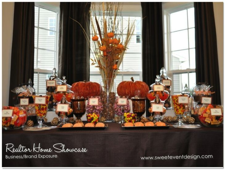 46 Best Fall Thanksgiving Candy Buffets And Party Ideas