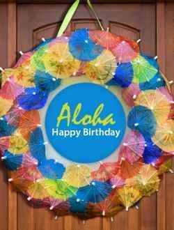 Door decoration idea | Luau/Tiki Tropics Party | Pinterest ...
