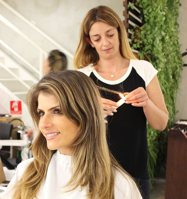Brazilian Hair Burning Treatment - What is Velaterapia - Elle