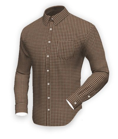 Brown flannel checked Shirt http://www.tailor4less.com/en-us/men/shirts/2408-brown-flannel-checked-shirt