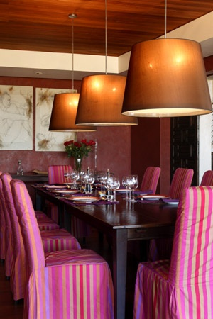 Gourmet dining at Casa Lapostolle, Colchagua Valley
