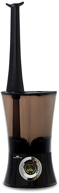 Black Cool Mist 1.6-Gallon Top-Fill Humidifier