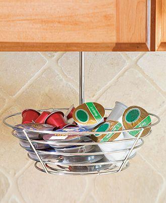 Lipper International Hanging Basket, 36 Coffee Pod Storage - Serveware - Dining & Entertaining - Macy's Bridal and Wedding Registry