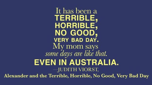 Must read kids book! Alexander and the Terrible, Horrible, No Good, Very Bad Day