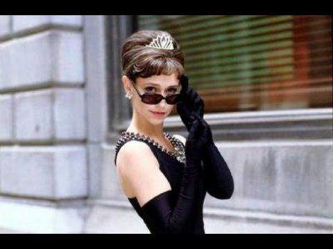 Az angyali Audrey Hepburn 1. - YouTube