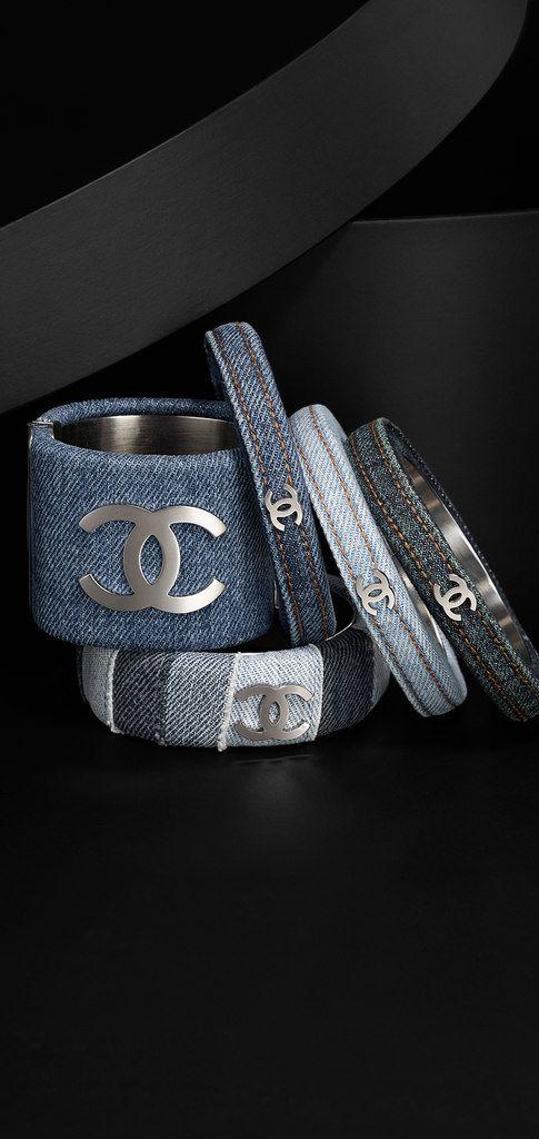 Chanel Denim bangles....love them all......CA