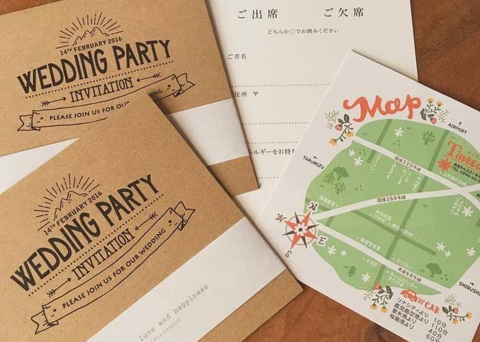 【永久保存版】招待状の発送前に確認しましょ♡招待状の封筒の中身に入れるべきアイテムまとめ*のトップ画像