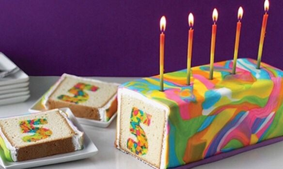 Cute and simple cake, not just for 5 year olds though!