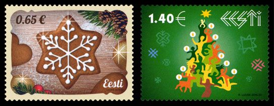 Christmas stamp 2016 – Estonia