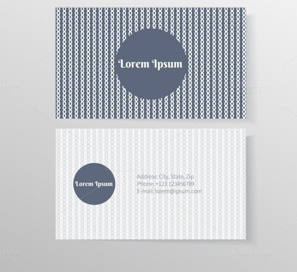 Business card template - Product Mockups - 1