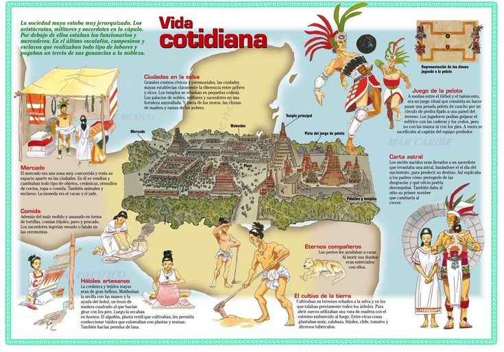 Vida cotidiana maya