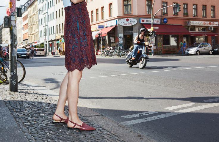 Lookbook SS16 Thea Sandal Burgundy by Terhi Pölkki