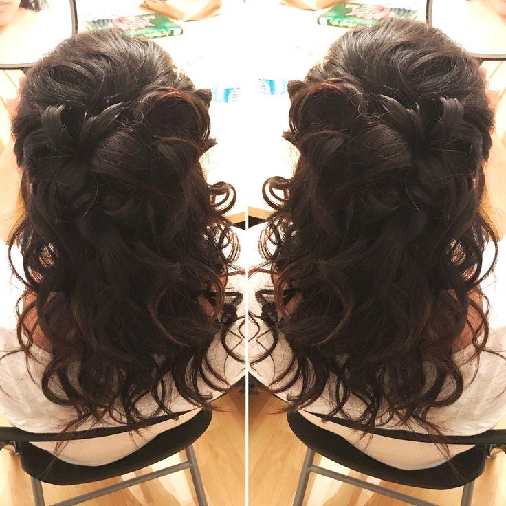 Noufal wedding hairstyles