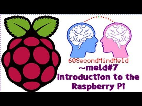 INTRODUCTION TO THE RASPBERRY PI in 60 seconds