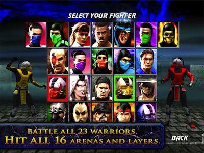 Ultimate Mortal Kombat 3 for iPad