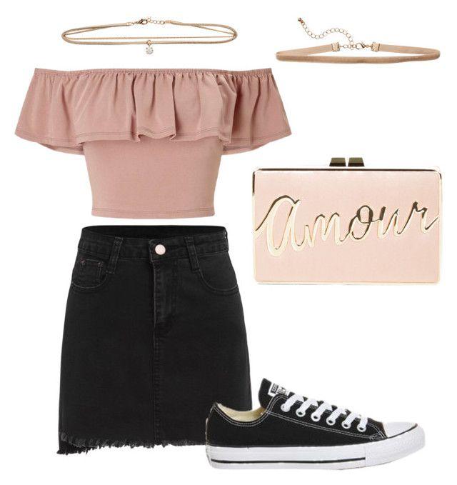 """⚪️ Pink Think"" by oliwiajankowska on Polyvore featuring moda, Topshop, Miss Selfridge i BCBGMAXAZRIA"