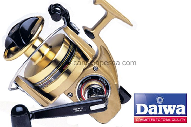 Daiwa GS-9 gold un carrete que nunca se pasa de moda. (RATIO: 3.3:1) es ideal tanto para barca por su capacidad de sacar piezas de buen tamaño a bastante profundidad sin casi esfuerzo como para playa por su enorme capacidad de hilo 210m/0.55mm.  Peso: 790gr Ratio: 3.3:1 Capacidad De Línea: 0.55mm/210m Rodamientos: 2 Número De Bobinas: 1 de aluminio Recuperación Por Vuelta De Manivela: 71cm