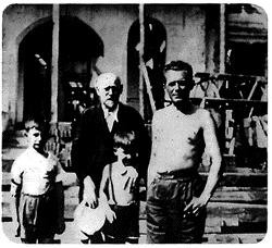 Janusz Korczak with children in Mezenin