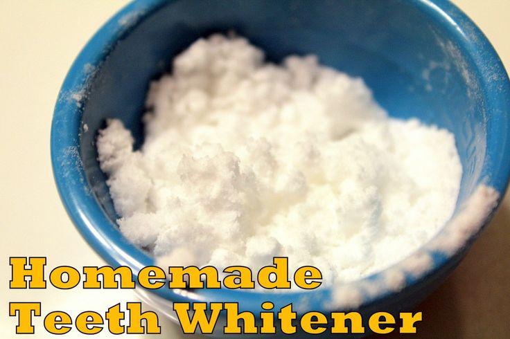 All Natural Teeth Whitener - Homemade for Elle