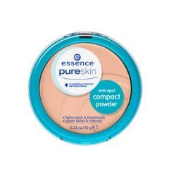 Pudry tuhé Essence Pure Skin kompaktní pudr anti-spot