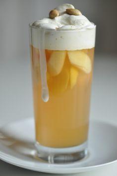 Der leckere Apfelpunsch von ziiikocht heizt auch ohne Alkohol ordentlich ein, mmmh... .