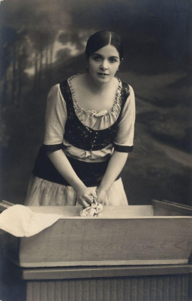 Berky Lili Marcsa szerepében (1916)