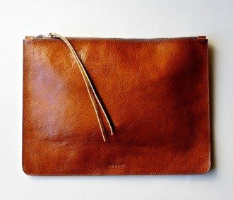 Heirloom leather portfolio