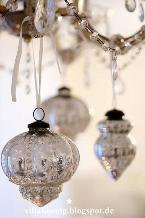 Vintage Glass Baubles ♥