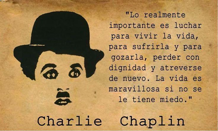 #Chaplin #Frases