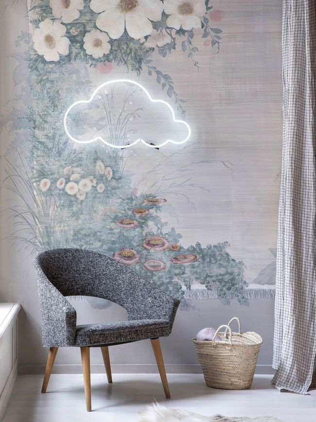 Wolke und Vorhang