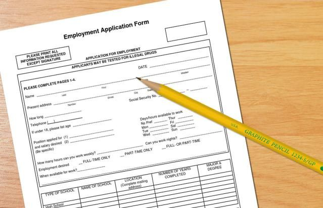 What Information Do You Need to Apply for a Job? - employment application forms