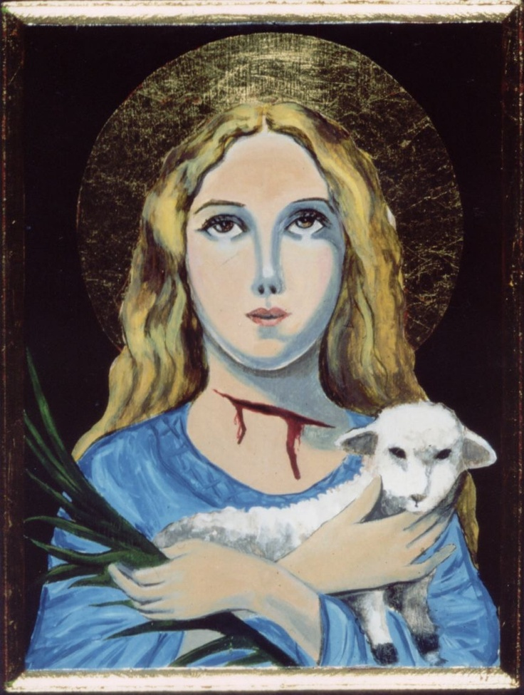 St. Agnes My Confirmation Saint. A Young Martyr Whose