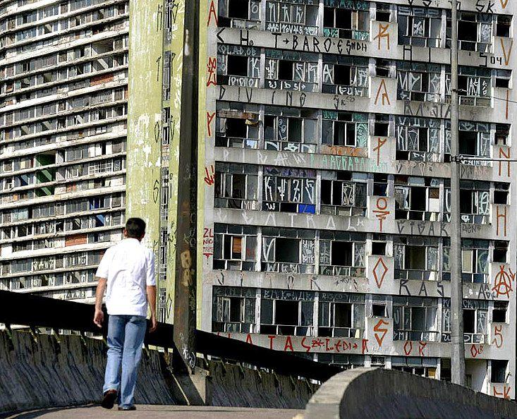 A vitalidade de uma geração estampada na cara da cidade. Ousadia e horror!