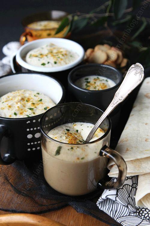 soupe creme de panais au curry 0000001 LE MIAM MIAM BLOG