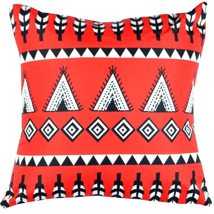 Designerska poduszka dekoracyjna Folk № gd380