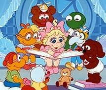 """My oldest son cried when Jim Henson died """"cause there won't be anymore muppet babies!"""" LOL"""