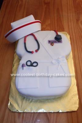Nursing cake, graduation party...