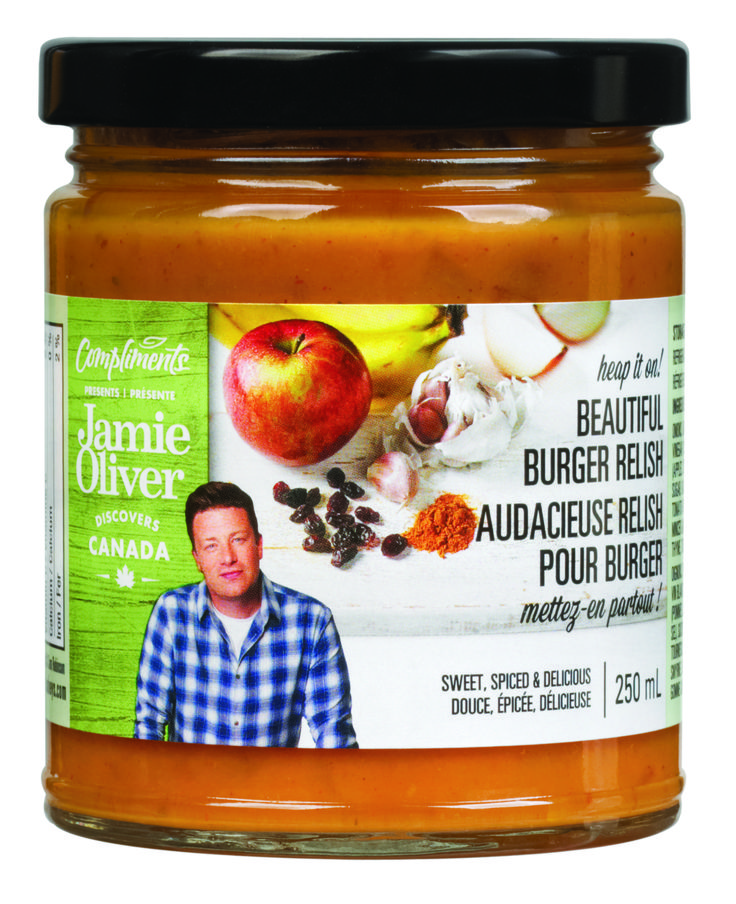 SOBEYS INC. / Compliments presents Jamie Oliver Condiments