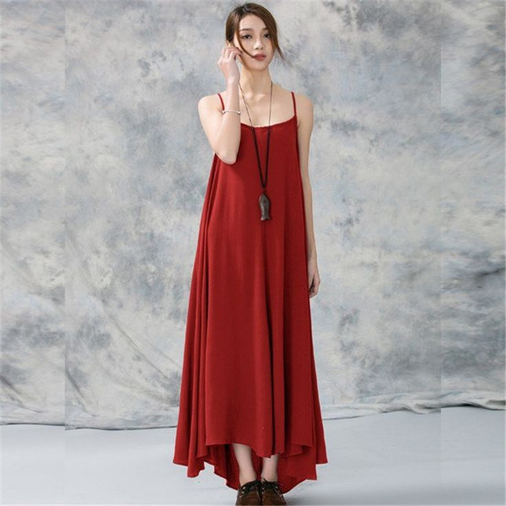 About linen fabric,it always has a comfortable and unique look.How about this one ? Women Summer Cotton Linen Camisole Dress.It's fantastic look with comformy texture.welcome to buykud.com