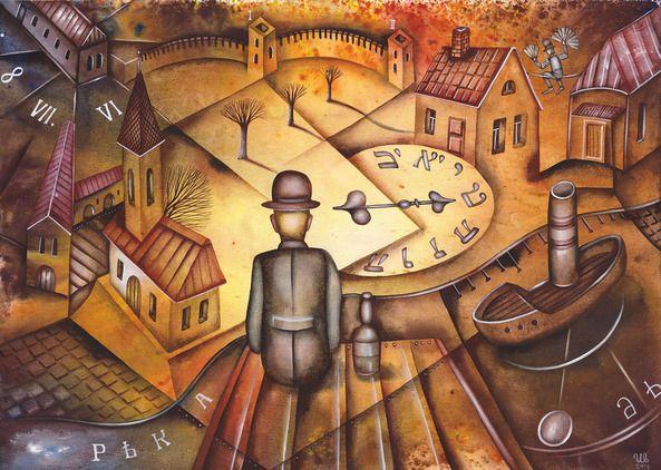 SOLD. River by Eugene Ivanov, watercolor on paper, 29 X 41 cm. #eugeneivanov #@eugene_1_ivanov #modern #original #oil #watercolor #painting #sale #art_for_sale #original_art_for_sale #modern_art_for_sale #canvas_art_for_sale #art_for_sale_artworks #art_for_sale_water_colors #art_for_sale_artist #art_for_sale_eugene_ivanov #jew #jewish #judaic
