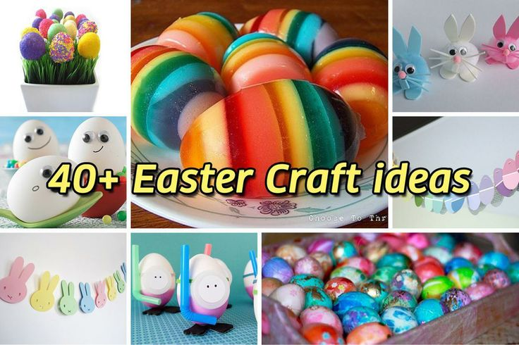 40+ Easter craft ideas  ...
