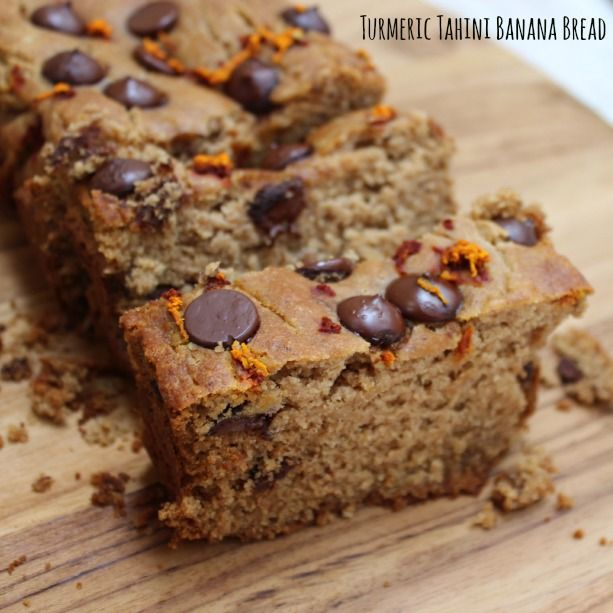 Turmeric Tahini Banana Bread – The Seasonal Diet
