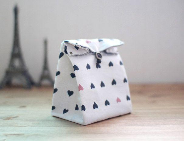 Tissu Tutorial sac-cadeau