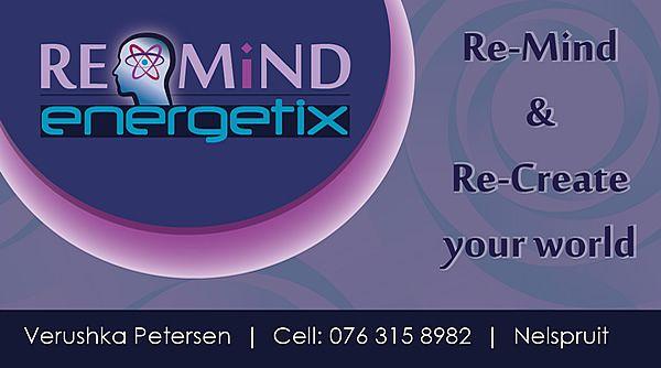 Business Card Design For Re-Mind Energetix