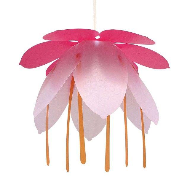 RoseGrossesse Enfant Et Suspension Fushia Grande Fleur Lampe 8XwOn0Pk